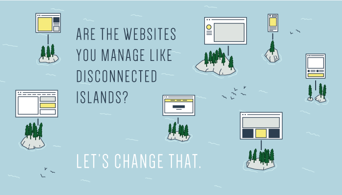 Are your websites like disconnected islands